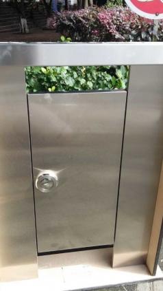 304不锈钢成品卫生间隔断-大气的贵族